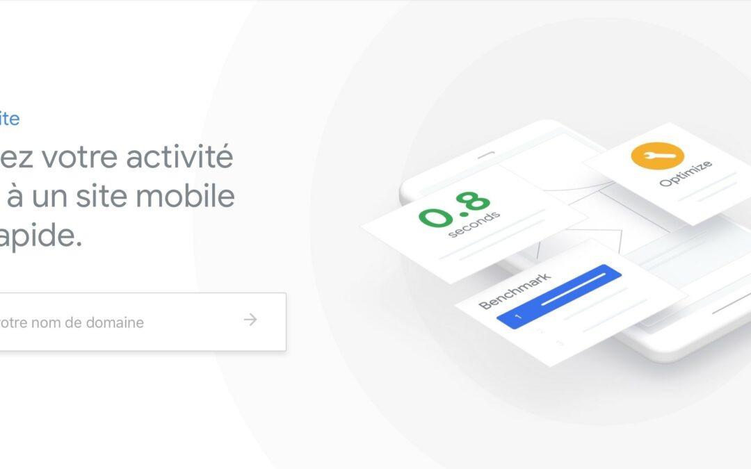Google Test My Site : De nouvelles fonctionnalités pour tester le chargement de votre site web